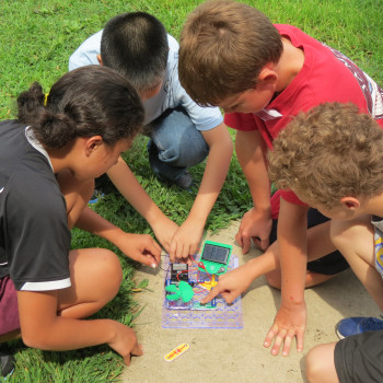 Photo courtesy of CERDEC Math and Science Summer Camp via CC licensing.